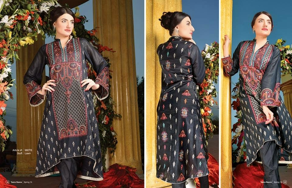 Bahar-e-15 summer 2015 dresses