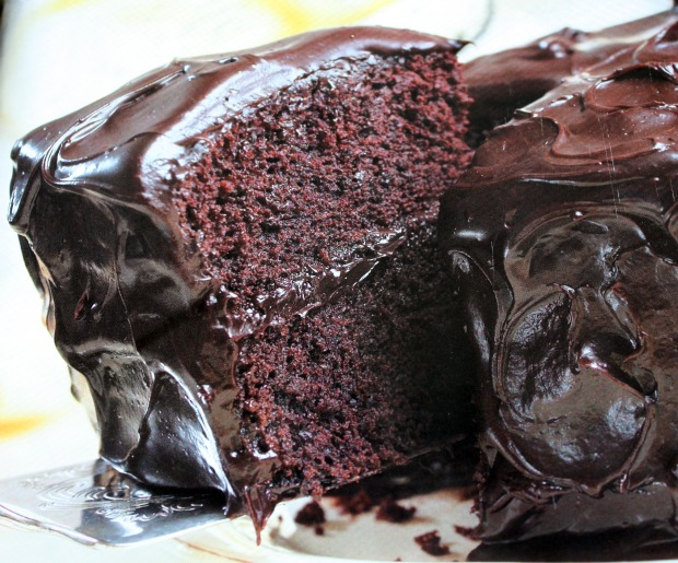Easy Glossy Chocolate Icing