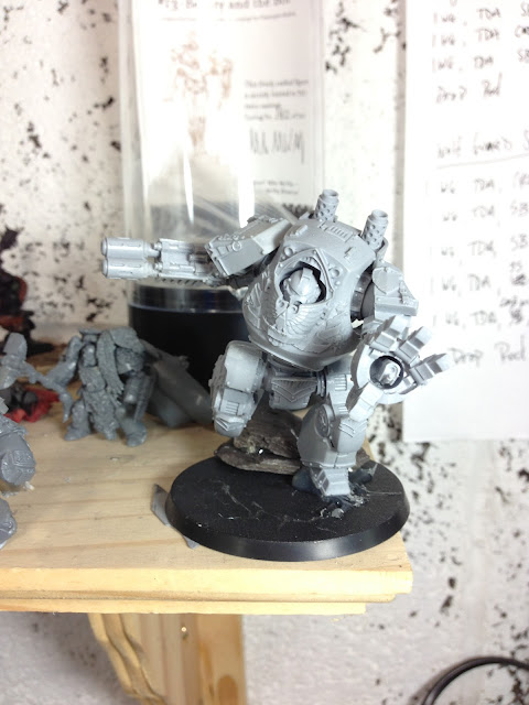 Forgeworld Space Wolf Relic Contemptor Dreadnought