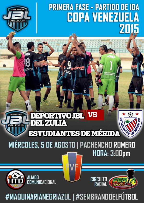 Ida de Copa Venezuela vs Estudiantes de Mérida