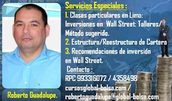 Servicios Especiales de Roberto Guadalupe.
