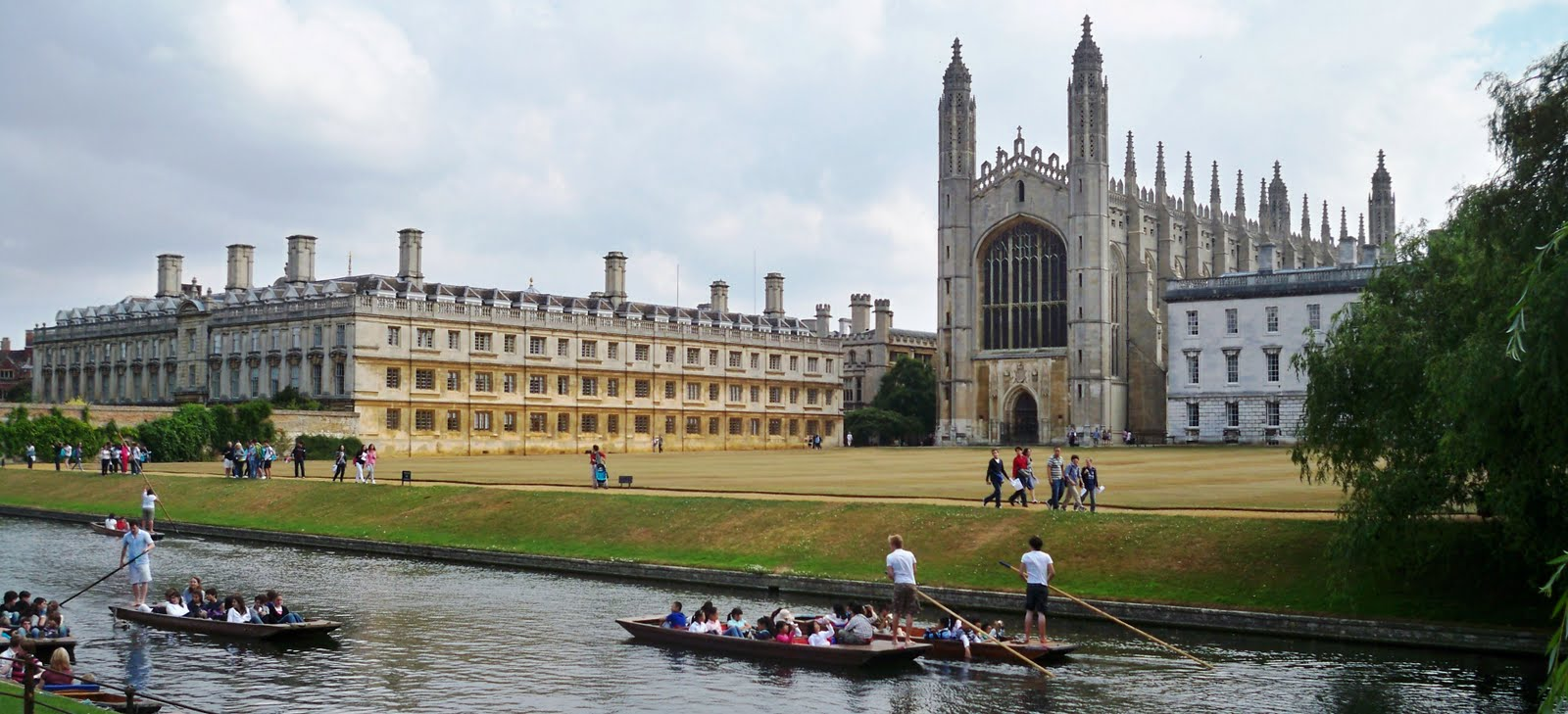 Cambridge University Campus England The Travel Blog By