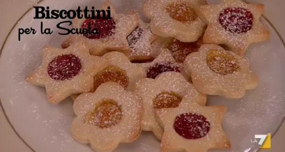Biscottini con la Marmellata per la Scuola di Benedetta Parodi