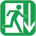 100 Exits Icon Logo