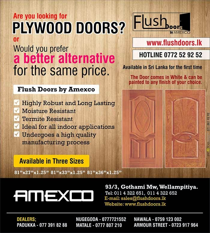 The typical flush door is manufactured by using two sections of HDF Designer Skins that are attached to each side of a frame. While the interior of the door is hollow, it is supported by a honeycomb support system, making it strong, cost effective & lightweight. The Door can be finished to accentuate the wood grain or covered with paint. Once the door construction is completed, the finish is treated with a sealant to protect the color or the stain from any type of damage