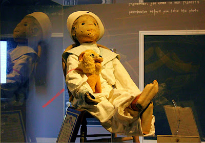 Robert the Doll has a ghastly appearance with ghostly powers