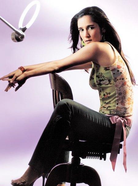 Julieta Venegas en sesión de foto