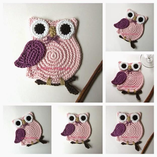 http://mjmcrafts.blogspot.com.br/2013/01/crochet-owl-valentine.html?m=1
