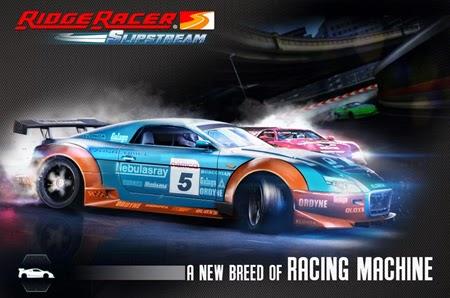 Descarga y juega Ridge Race Slipstream en teléfono móvil con Android.
