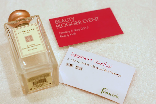Hello Freckles #FenwickBeautyWeek Newcastle Jo Malone
