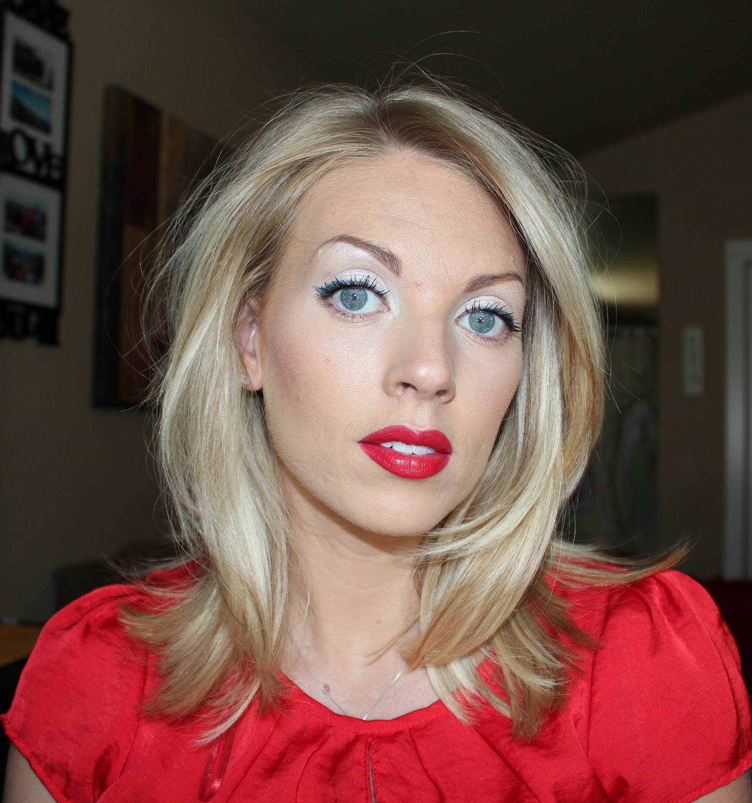 Sam Schuerman Red White Amp Blue Baby 4th Of July Makeup