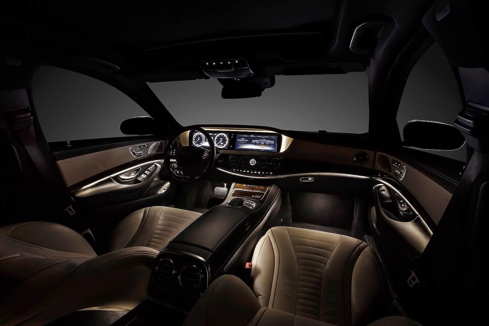2014 mercedes benz s 63 amg car information news for Mercedes benz s550 interior