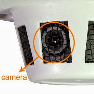 Smoke Detector with CCTV Camera