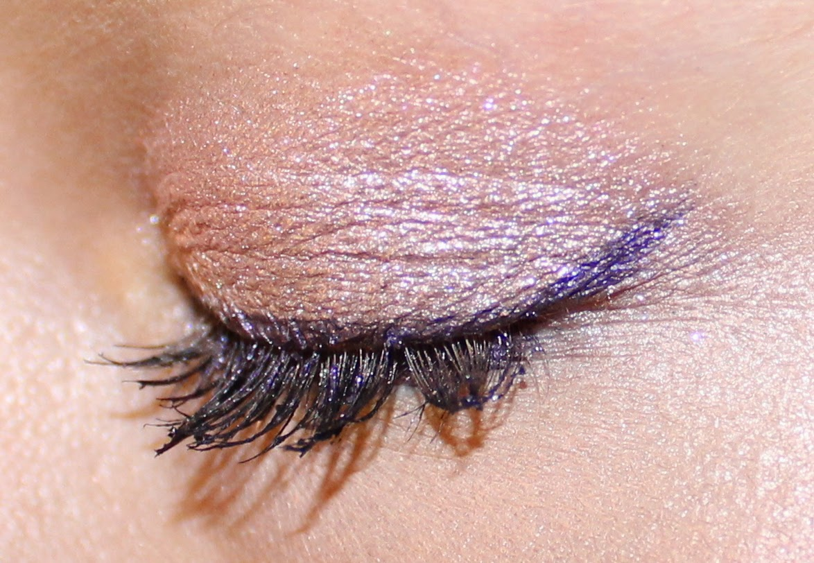 Revlon ColorStay Crème Gel Eyeliner in Plum on Eyes