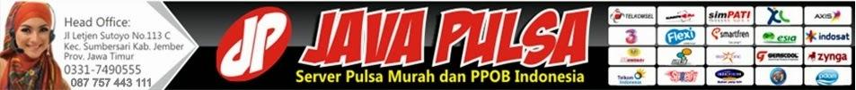 Java Pulsa Jember Cari Master Dealer