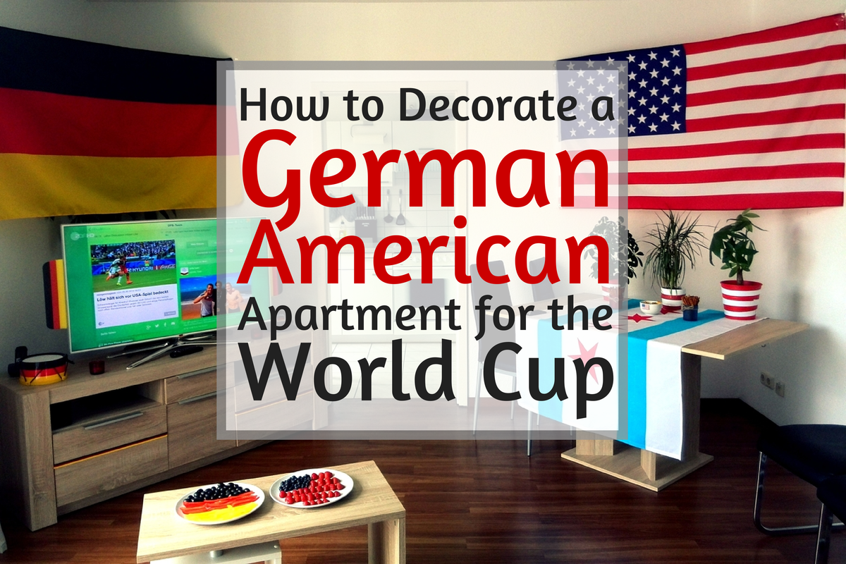 Decorating a German-American apartment