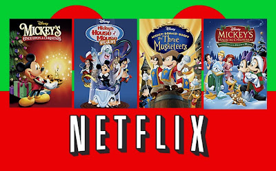 Netflix Disney Three Musketeers Christmas House Mouse