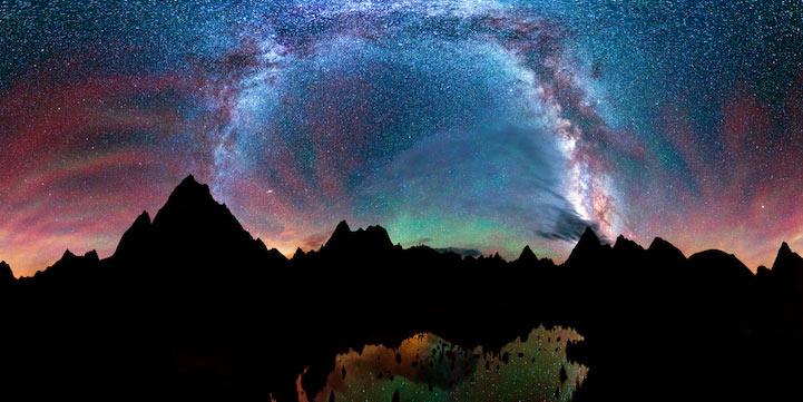 Mágicas fotografías nocturnas de larga exposición de Matt Payne