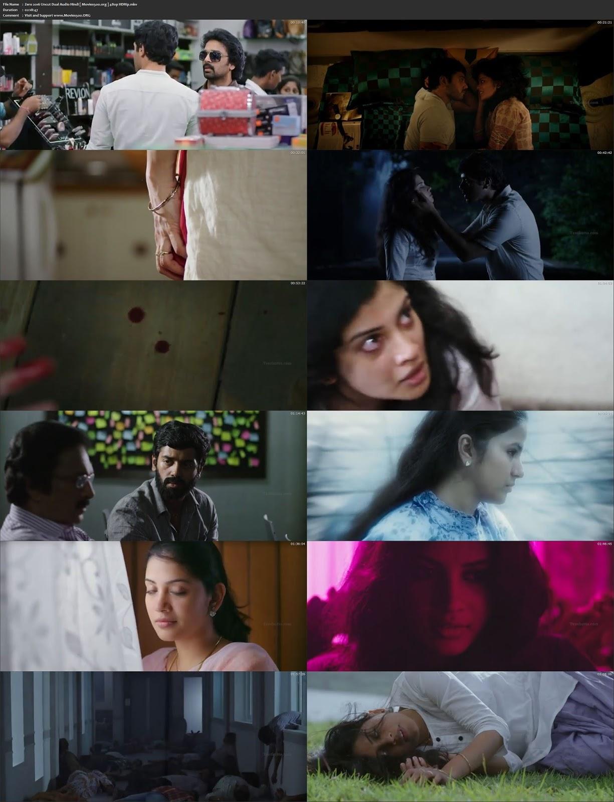 Zero 2016 Hindi Dubbed 400MB Movie HDRip 480p