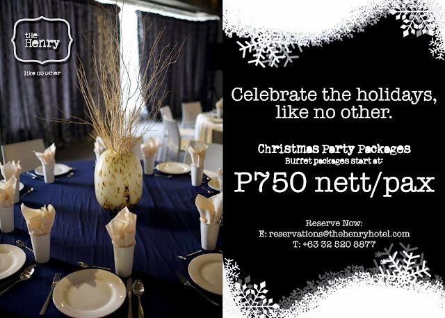 Celebrate the holidays like no other at  The Henry Hotel