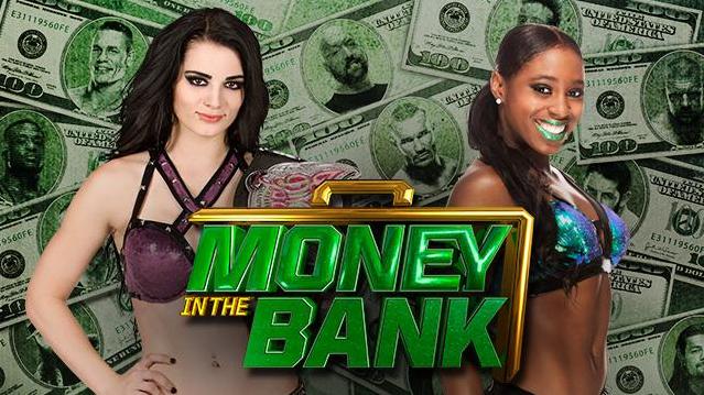 la bella paige desafia a la poderosa naomi en un combate que dara mucho de que hablar, bellas divas en money in the bank