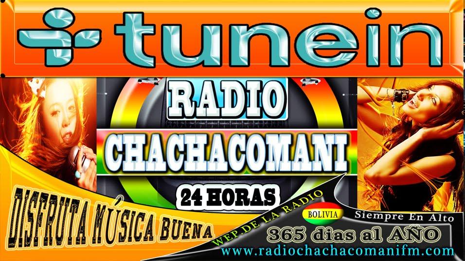 ESCUCHA RADIO CHACHACOMANI EN TUNEIN