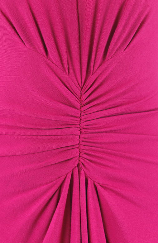 Sophistique Long Sleeve Maxi Dress – Raspberry