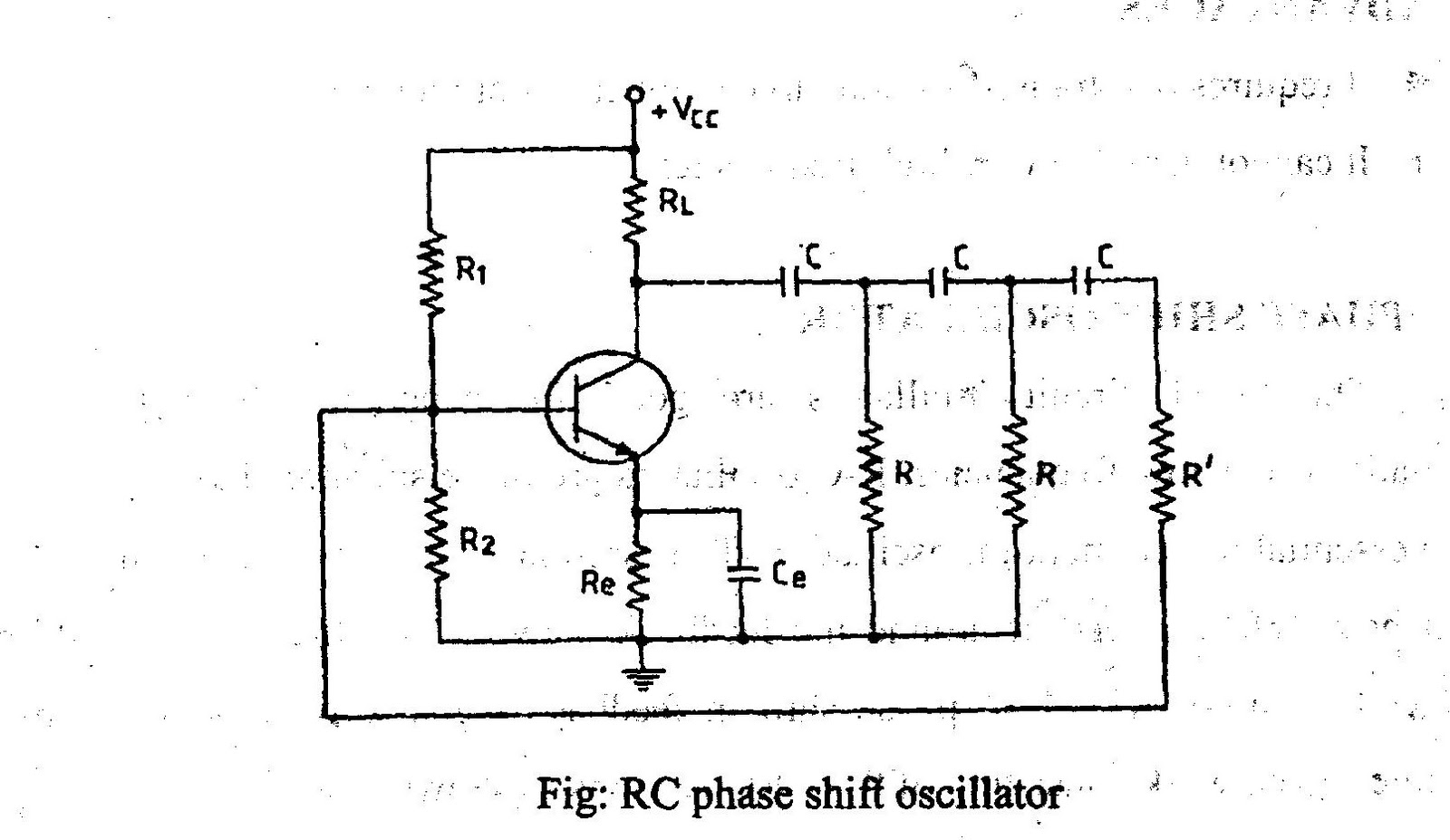 Electrical And Electronics Engineering September 2011 Reverse Bias Oscillator Circuit Phase Shift