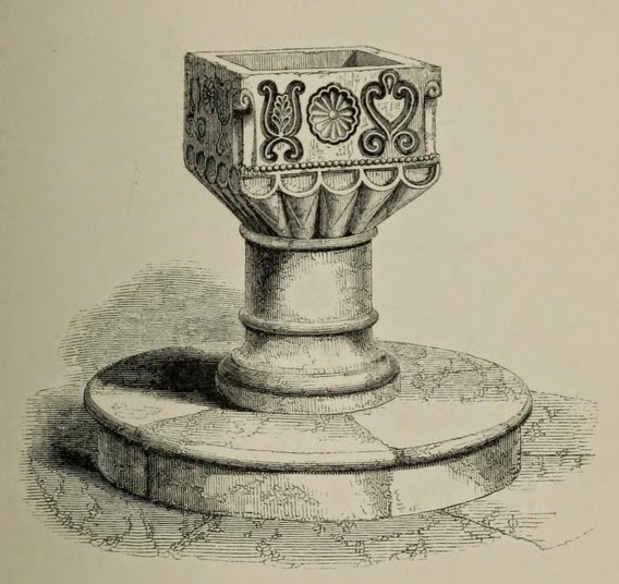 Paley's drawing of the Westerleigh font