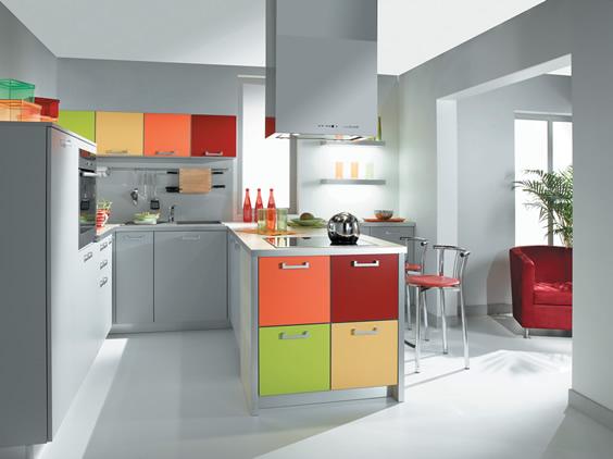 Disenar Una Sala De Estar En Linea ~ Cómo distribuir el espacio en la cocina  Cocinas con estilo
