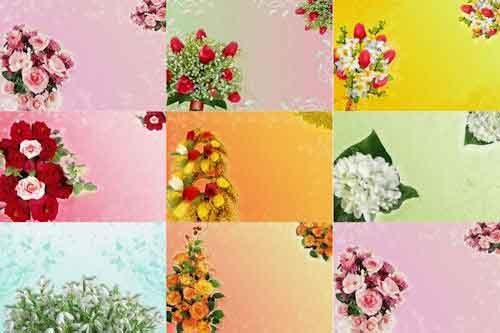 Ramos de rosas para escribir tus mensajes (Día de las Madres)