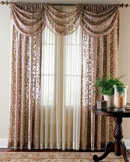 Curtains Ideas curtain designs for windows : living room interior Design with sewing curtains, curtains living room ...