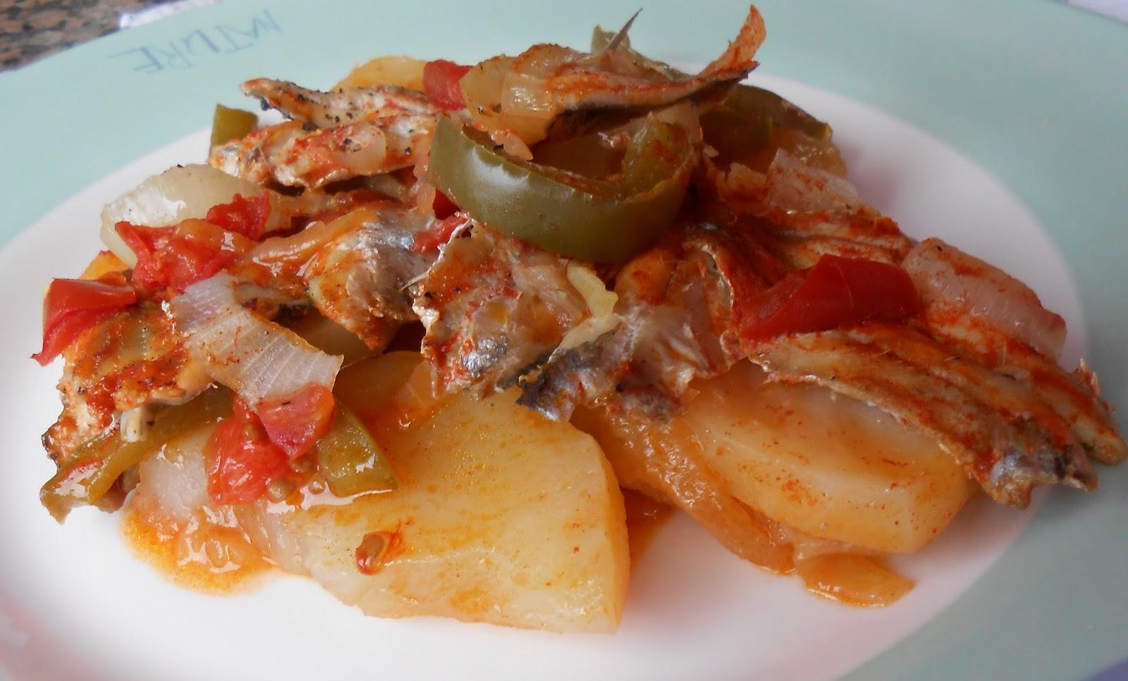 Cocina mami caldeirada de sardinas for Cocinar xoubas