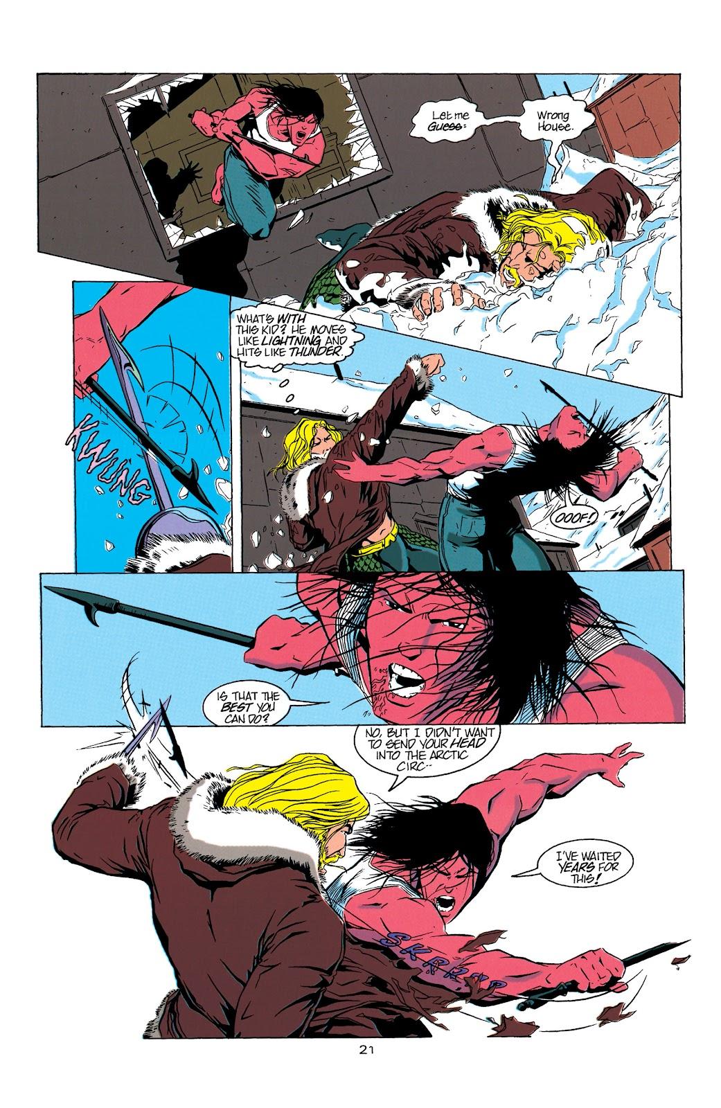 Aquaman (1994) Issue #5 #11 - English 22