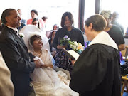 Ky. woman with leukemia marries in bittersweet hospital chapel ceremony