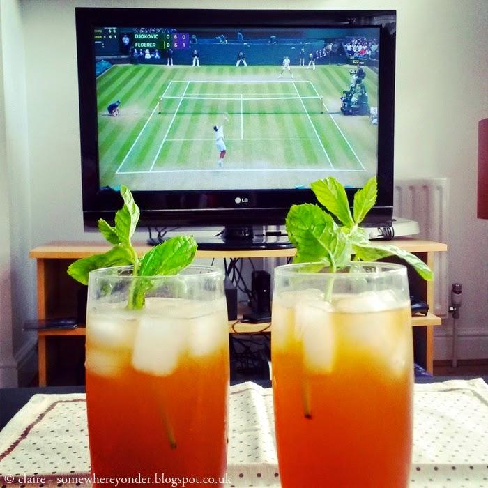 Wimbledon cocktails 2014