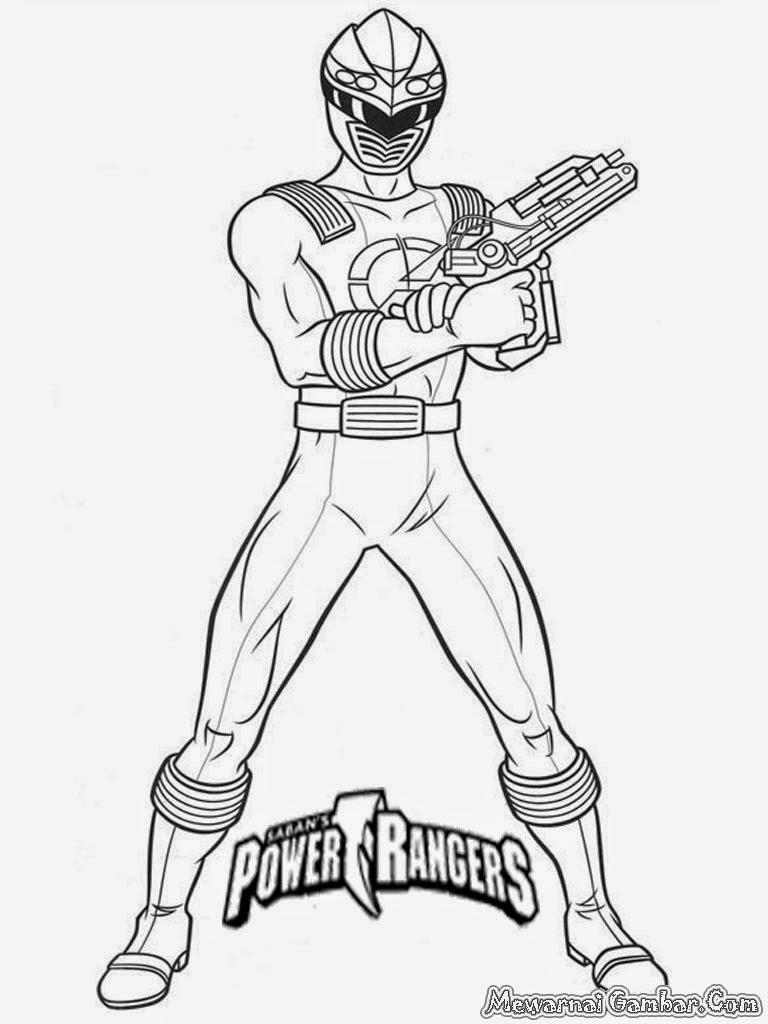 Asombroso Power Rangers Samurai Zord Para Colorear Festooning ...