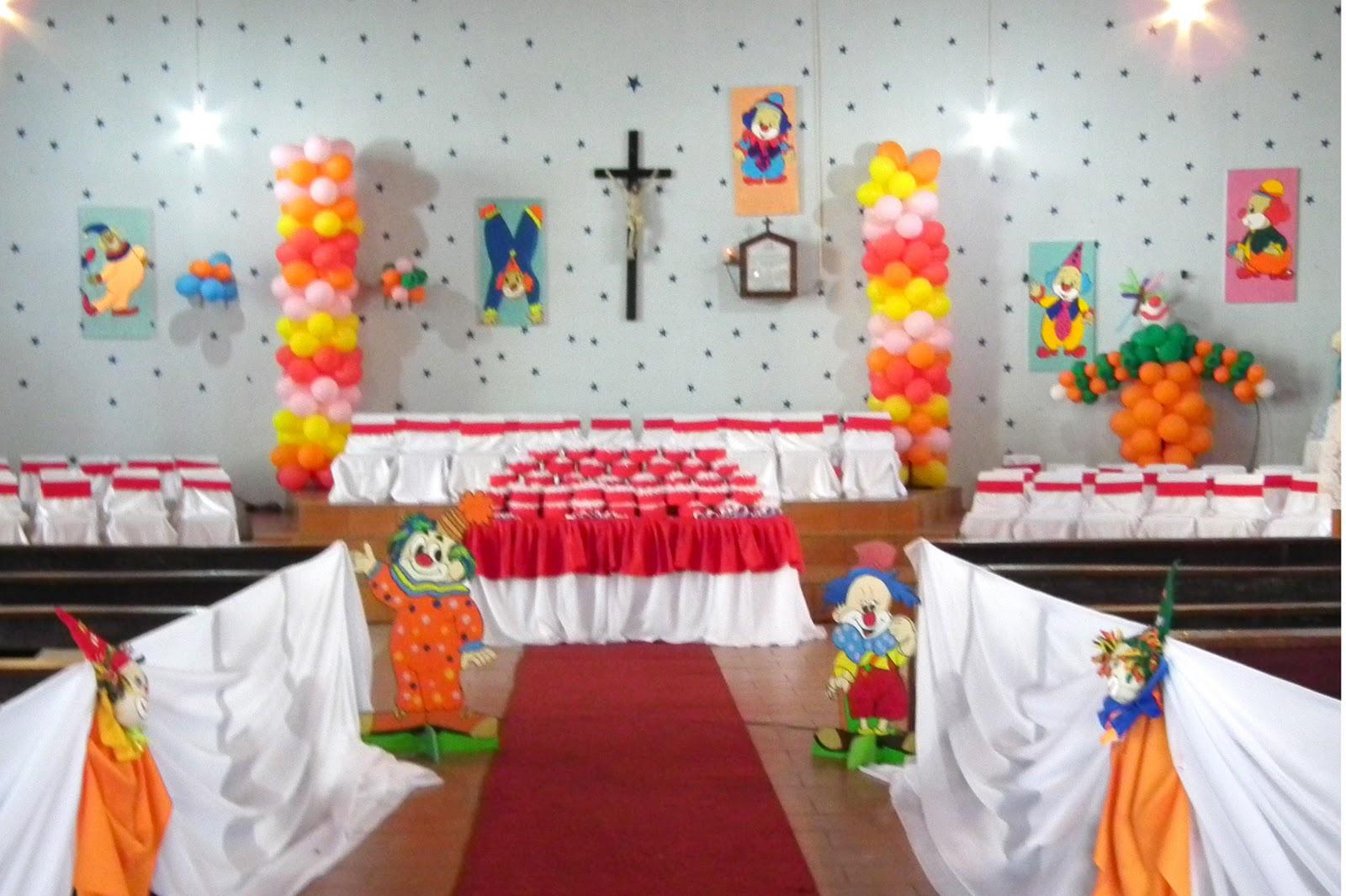 Viviane Decorações e Salão de Festas Decoração de Formatura de Educação Infa # Decoracao Banheiro Educacao Infantil