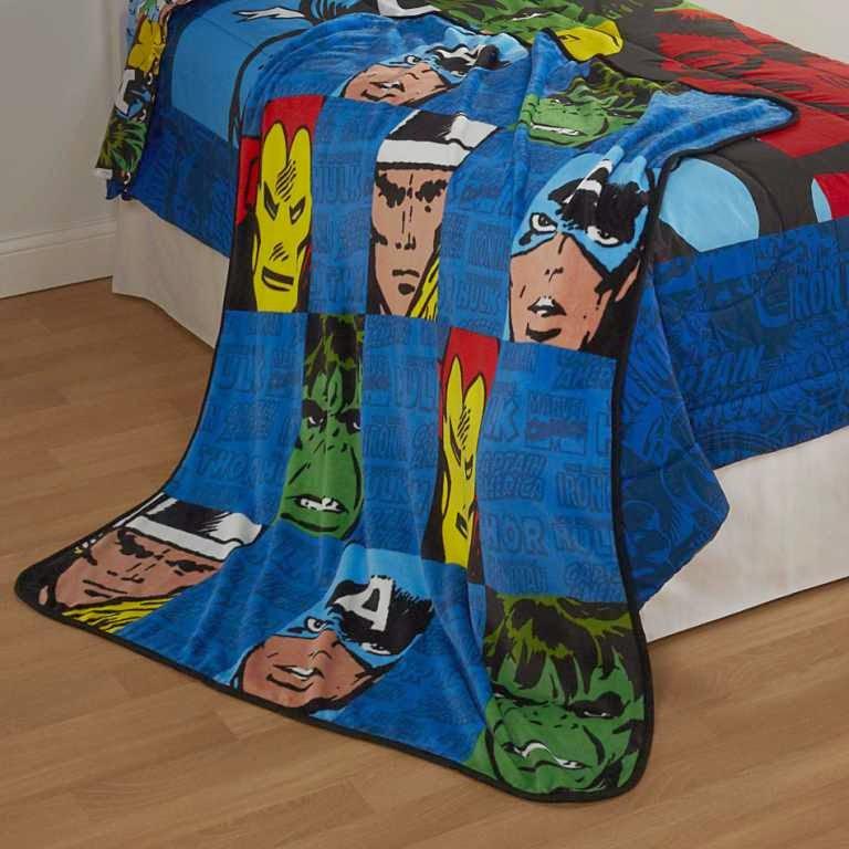 Avengers bedding design