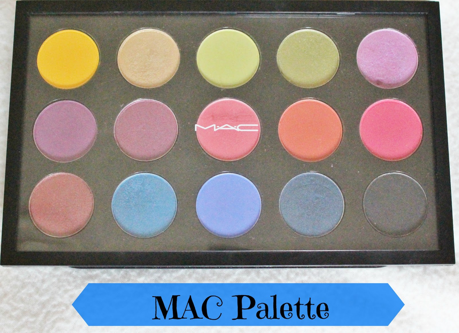 MAC Eyeshadow Palette Review/Swatches