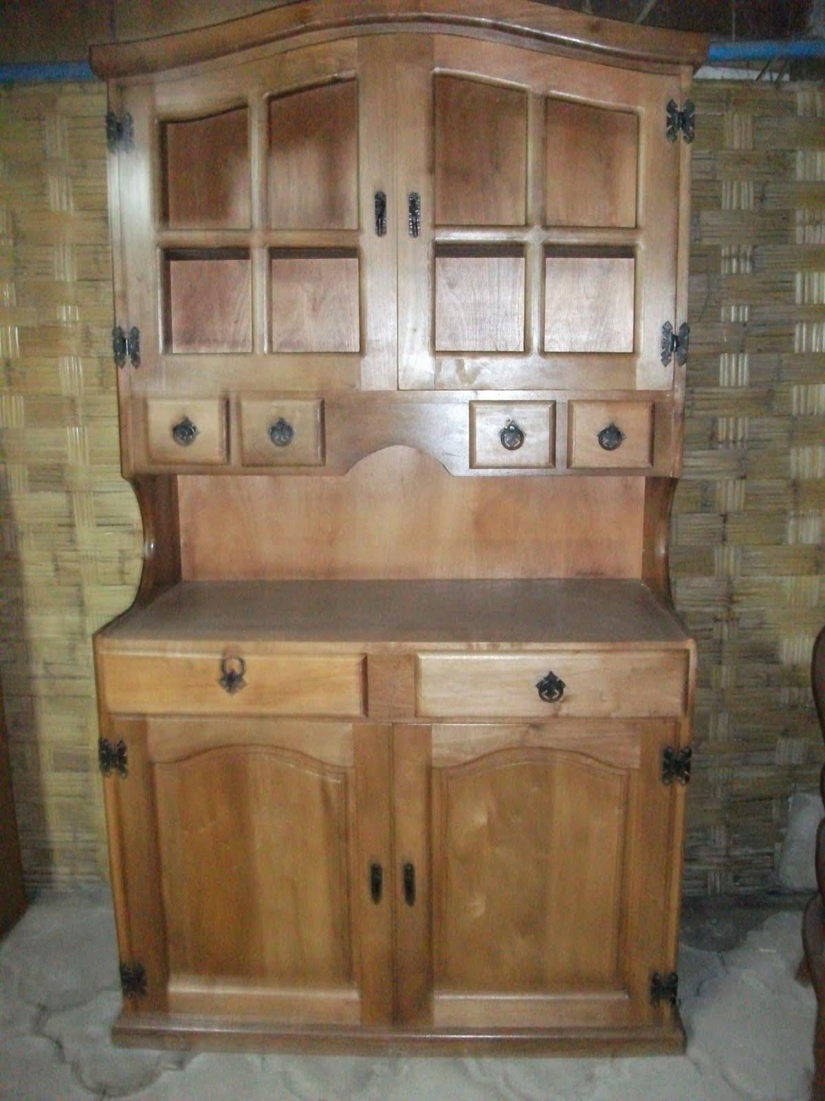 Muebles de cocina arte rustico for Muebles vanitorios rusticos