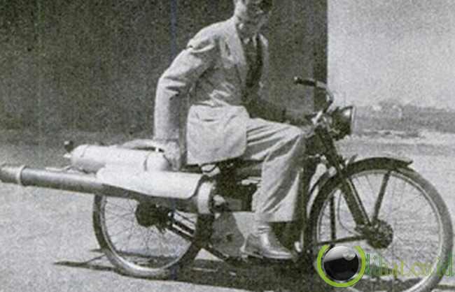 Kendaraan Roda Dua Bertenaga Jet (1949)