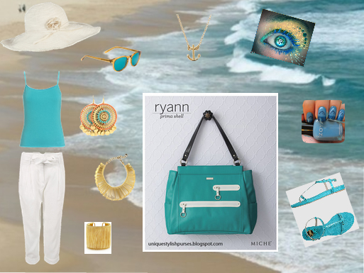 Ryann Prima Shell Perfect for those Caribbean White Sandy Beaches!