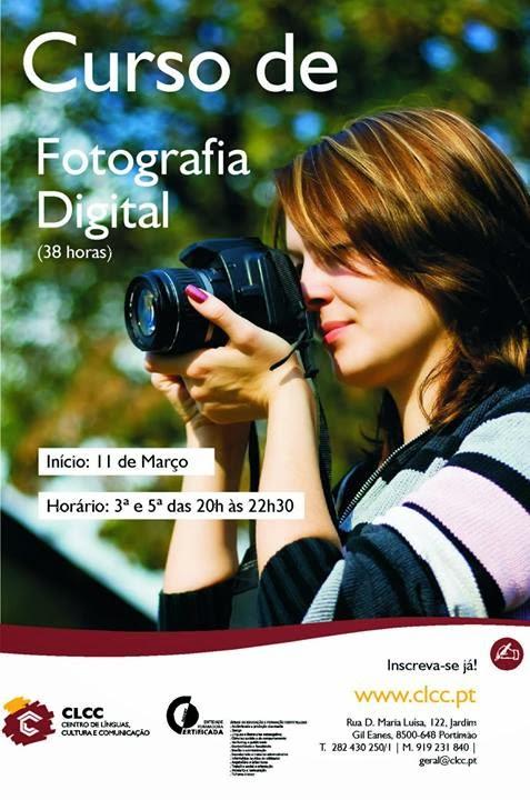 Curso de fotografia digital em portimão