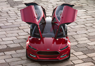 2012 Ford Evos Concept Wallpapers