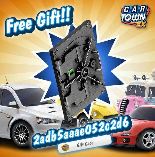 Car Town: Car Town EX Free Gift Puerta de boveda