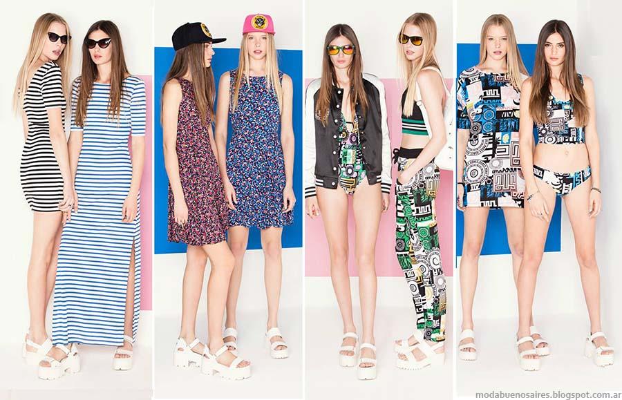 Complot primavera verano 2015. Moda juvenil primavera verano 2015.