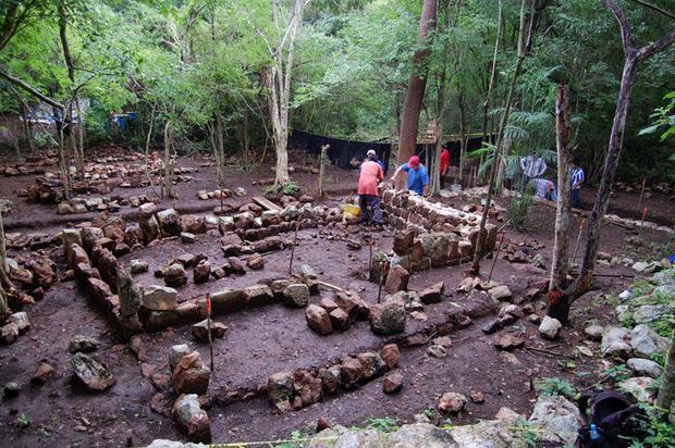 Les d couvertes arch ologiques une cuisine royale d couverte sur l 39 ancienne cit maya de kabah - Une royale en cuisine ...