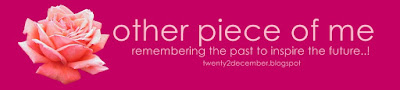 ! twenty2december.. other piece of me !