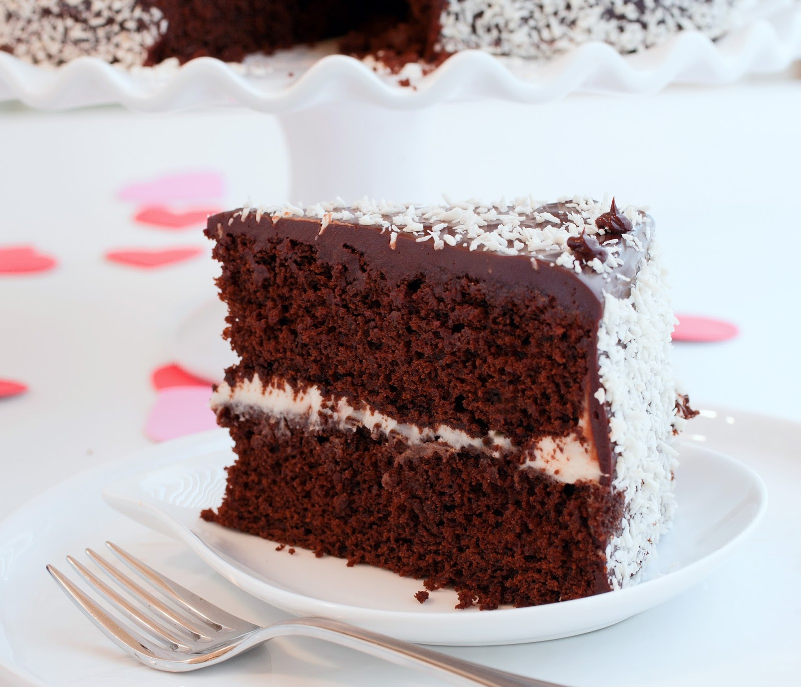 Tish Boyle Sweet Dreams: Love-Struck Chocolate Cake with White ...